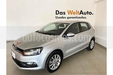 Volkswagen Polo 5p Design & Sound L4/1.6 Aut usado (2019) color Plata precio $224,443