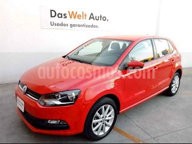 Volkswagen Polo 5p Design & Sound L4/1.6 Man usado (2019) color Rojo precio $215,000