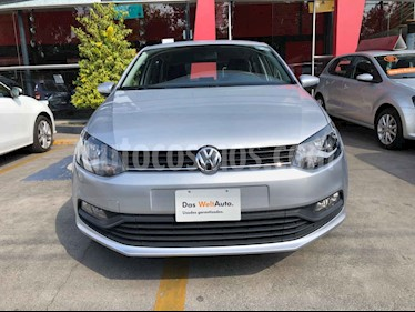 Volkswagen Polo 5p Design & Sound L4/1.6 Man usado (2019) color Plata precio $199,990