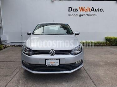 Volkswagen Polo 1.6L Base 4P usado (2019) color Plata precio $219,900