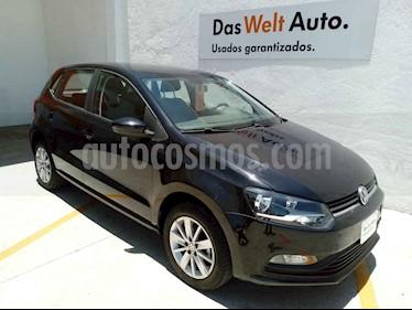 Volkswagen Polo 5p L4/1.6 Aut usado (2018) color Negro precio $205,000