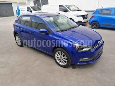 Volkswagen Polo Design & Sound usado (2019) color Azul precio $205,000