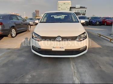 Volkswagen Polo 1.6L Comfortline 5P usado (2018) color Blanco precio $169,000