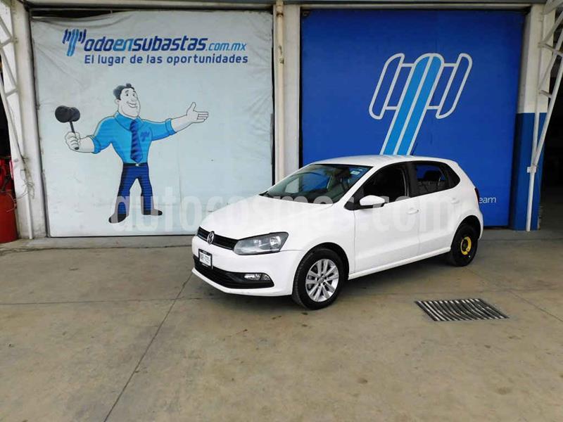 Volkswagen Polo 1.2L TSI Aut usado (2017) color Blanco precio $95,000