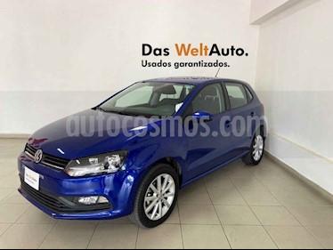Volkswagen Polo 5p Design & Sound L4/1.6 Man usado (2019) color Azul precio $218,848