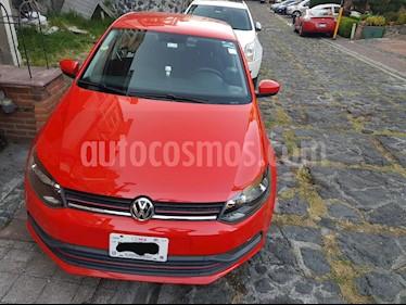 Volkswagen Polo 1.6L Base 4P usado (2015) color Rojo precio $128,000