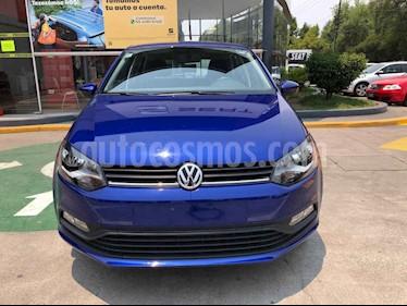 Volkswagen Polo 5p Design & Sound L4/1.6 Aut usado (2020) color Azul precio $231,990