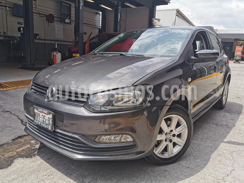Volkswagen Polo 1.6L Base 5P usado (2017) color Gris precio $145,000