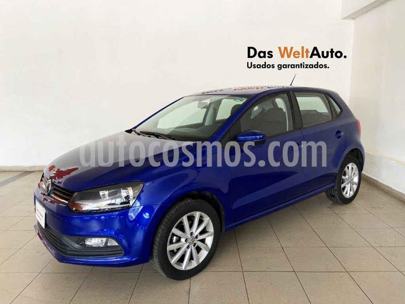 Foto Volkswagen Polo Design & Sound usado (2020) color Azul precio $212,800