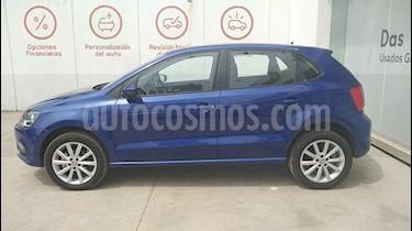 Volkswagen Polo 5p Design & Sound L4/1.6 Man usado (2020) color Azul precio $236,000