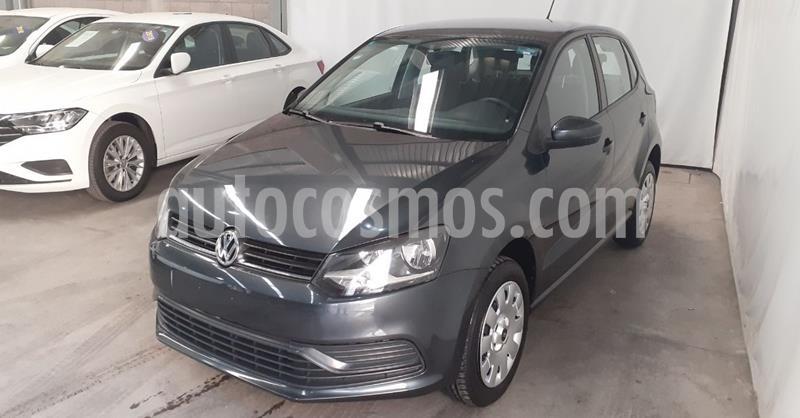 Volkswagen Polo 1.6L Base 5P Ac usado (2019) color Gris precio $168,900