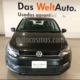 Volkswagen Polo 1.6L Base 5P usado (2019) color Gris precio $218,500