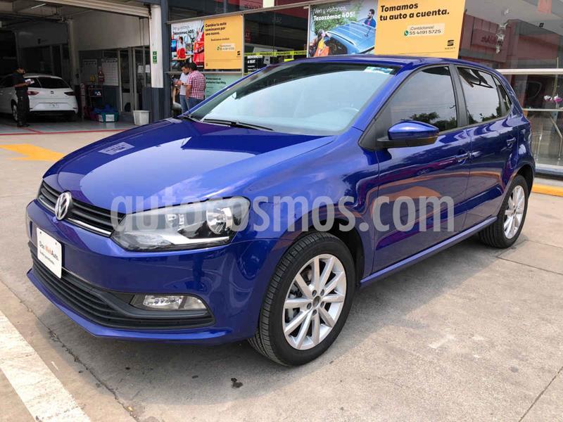 Foto Volkswagen Polo Disign & Sound Tiptronic usado (2020) color Azul precio $230,000