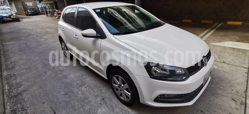 Volkswagen Polo 1.6L Base 5P Ac usado (2016) color Blanco precio $159,000