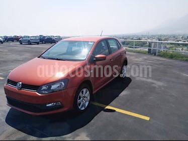 Volkswagen Polo 1.6L Base 4P usado (2015) color Naranja precio $125,900