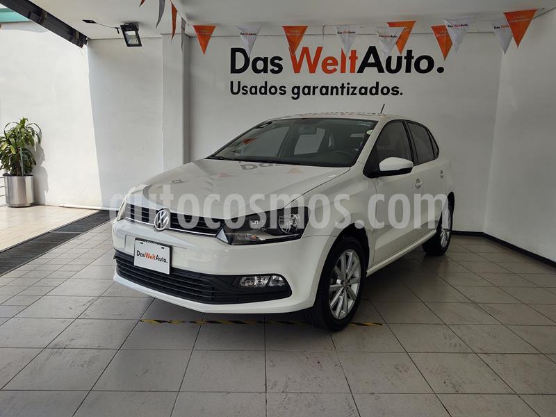 Volkswagen Polo 1.6L Comfortline 5P usado (2020) color Blanco precio $235,000