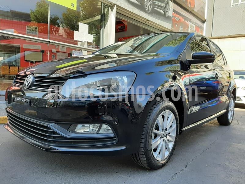 Volkswagen Polo 1.6L Base 4P usado (2018) color Negro precio $174,000