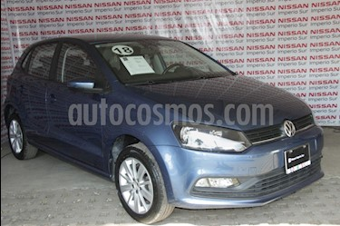 Volkswagen Polo 1.6L Base 5P Ac usado (2018) color Azul Electrico precio $179,000