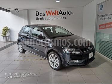 Volkswagen Polo 1.6L Comfortline 5P usado (2019) color Negro precio $229,000