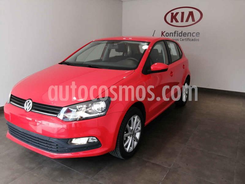 Volkswagen Polo Design & Sound usado (2020) color Rojo precio $219,300