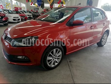 Volkswagen Polo 1.6L Base 5P Ac usado (2018) color Naranja precio $185,000