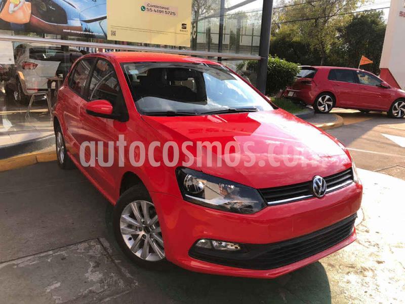 Volkswagen Polo 1.6L Aut usado (2017) color Rojo precio $189,990