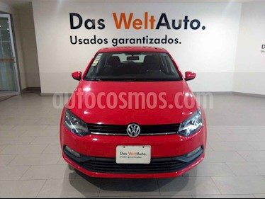 Volkswagen Polo 5p L4/1.6 Man usado (2017) color Rojo precio $165,500