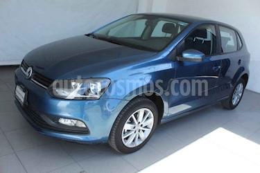 Volkswagen Polo 5p L4/1.6 Man usado (2018) color Azul precio $189,000