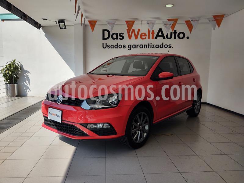 Volkswagen Polo 1.6L Comfortline 5P usado (2020) color Rojo precio $255,000