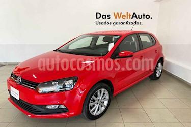 Volkswagen Polo 5p Design & Sound L4/1.6 Man usado (2019) color Rojo precio $211,410