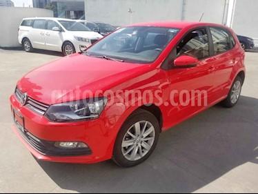 Volkswagen Polo 5p L4/1.6 Man usado (2018) color Rojo precio $180,000