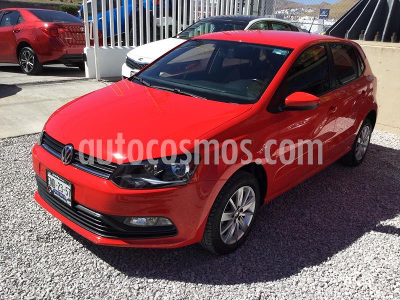 Volkswagen Polo 1.6L Base 5P Ac usado (2018) color Rojo precio $185,000