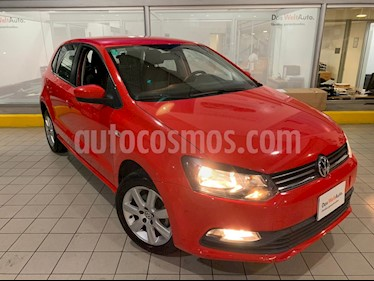 Foto Volkswagen Polo 1.6L Base 5P Ac usado (2015) color Rojo precio $144,900