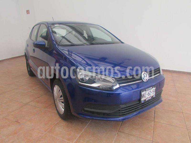 Volkswagen Polo 1.6L Base 5P usado (2020) color Azul precio $208,000