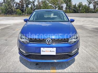 Volkswagen Polo 1.6L Comfortline 4P  usado (2019) color Azul precio $229,000