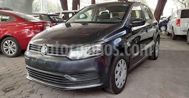 Volkswagen Polo 5p Startline L4/1.6 Aut usado (2019) color Gris precio $169,800