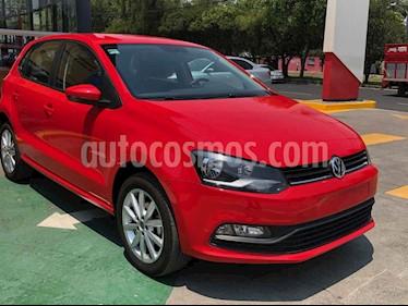 Volkswagen Polo 5p Design & Sound L4/1.6 Aut usado (2020) color Rojo precio $232,990