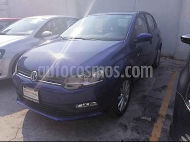 Volkswagen Polo 5p Design & Sound L4/1.6 Man usado (2019) color Azul precio $215,000