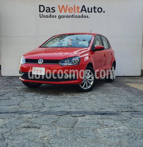 Volkswagen Polo 1.6L Base 4P usado (2019) color Rojo precio $222,000
