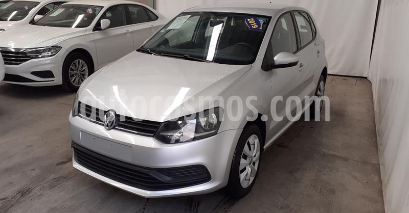 Volkswagen Polo 1.6L Base 5P usado (2019) color Plata Dorado precio $168,900