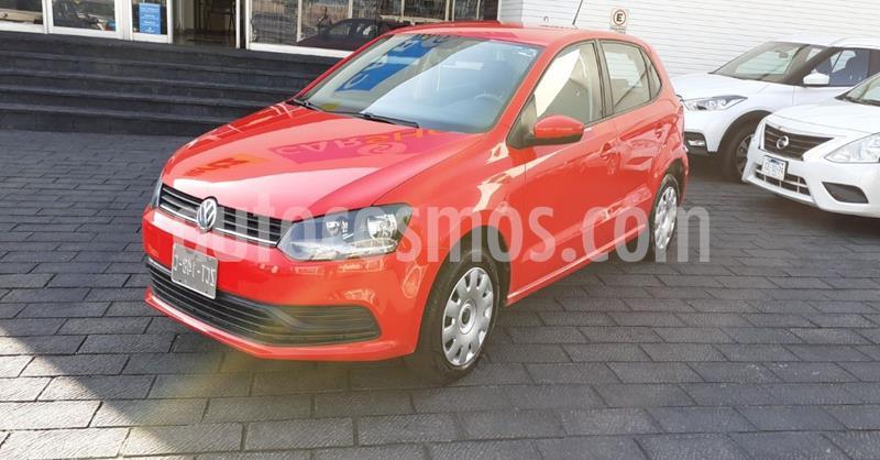 Volkswagen Polo 1.6L Comfortline 5P usado (2019) color Rojo precio $168,900