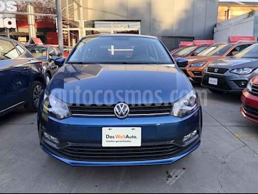 Volkswagen Polo 5p Design & Sound L4/1.6 Aut usado (2019) color Azul precio $225,000