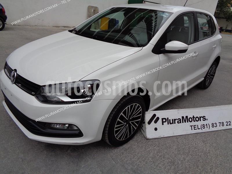 Volkswagen Polo 1.6L Base 5P Ac usado (2018) color Blanco precio $179,000