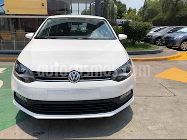 Volkswagen Polo 5p Design & Sound L4/1.6 Aut usado (2020) color Blanco precio $231,990