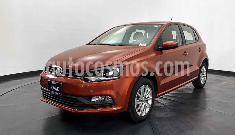 Volkswagen Polo 1.6L usado (2018) color Naranja precio $204,999