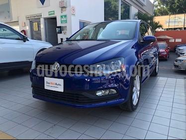 Volkswagen Polo 1.6L Comfortline 5P usado (2019) color Azul precio $219,900
