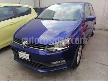 Volkswagen Polo 5p Design & Sound L4/1.6 Man usado (2020) color Azul precio $240,000