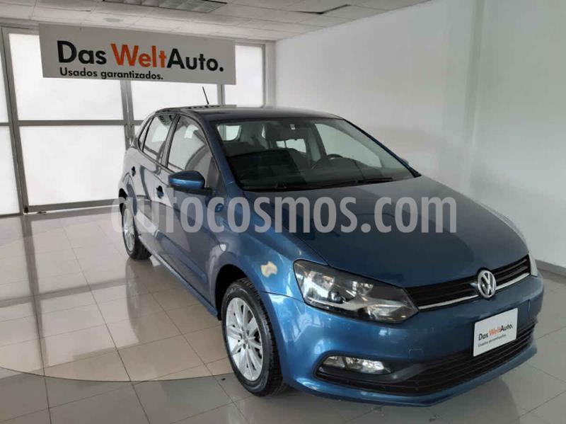 Volkswagen Polo 1.6L usado (2018) color Azul precio $185,000