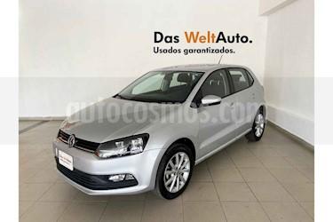 Volkswagen Polo 5p Design & Sound L4/1.6 Aut usado (2019) color Plata precio $222,044