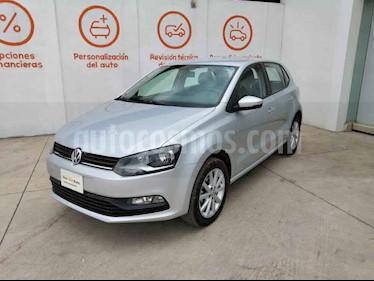 Volkswagen Polo 5p Design & Sound L4/1.6 Aut usado (2019) color Plata precio $236,000